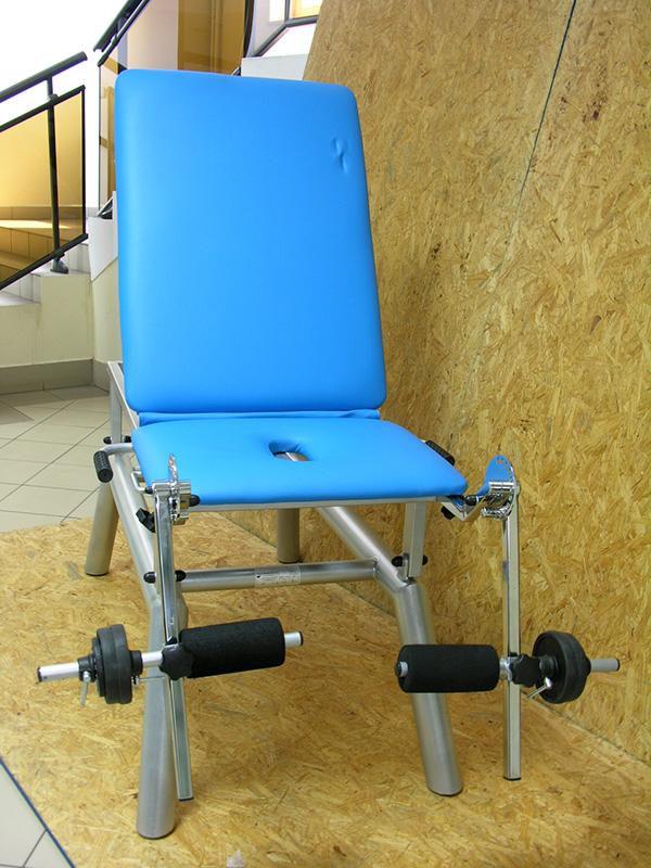 Fotel do ćwiczeń oporowych stawów kolanowych