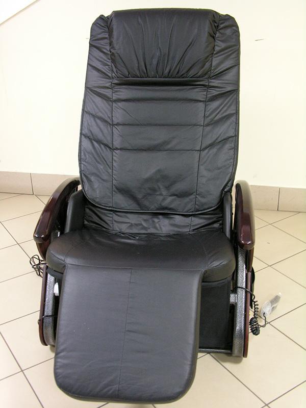 Fotel z masażem leczniczym