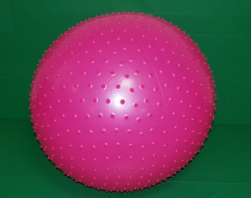 Piłka do ćwiczeń i masażu jeżyk
