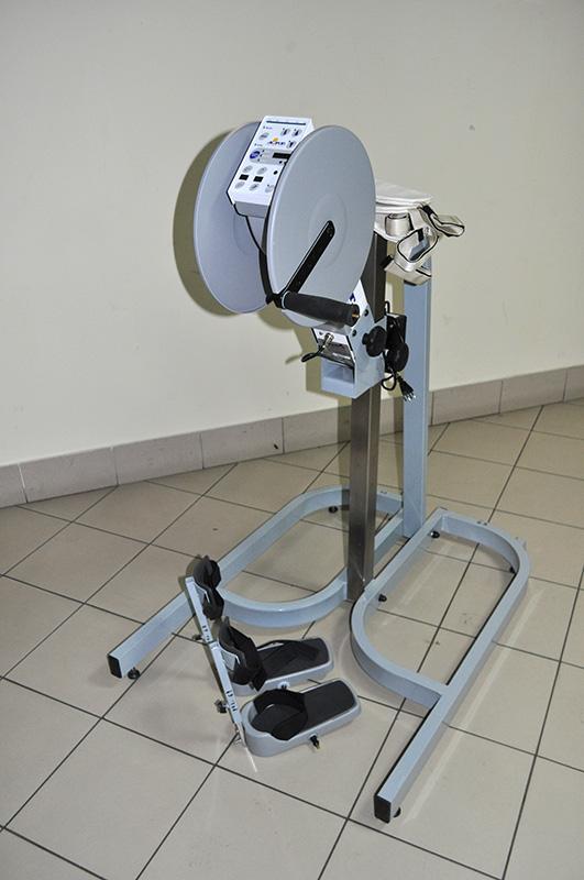 Rotor elektryczny do ćwiczeń czynnych i biernych kończyn górnych i dolnych