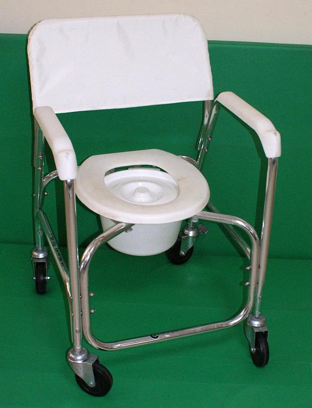 Wózek toaletowo prysznicowy